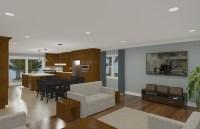 Open Floor Plan Concept - Design Build Planners