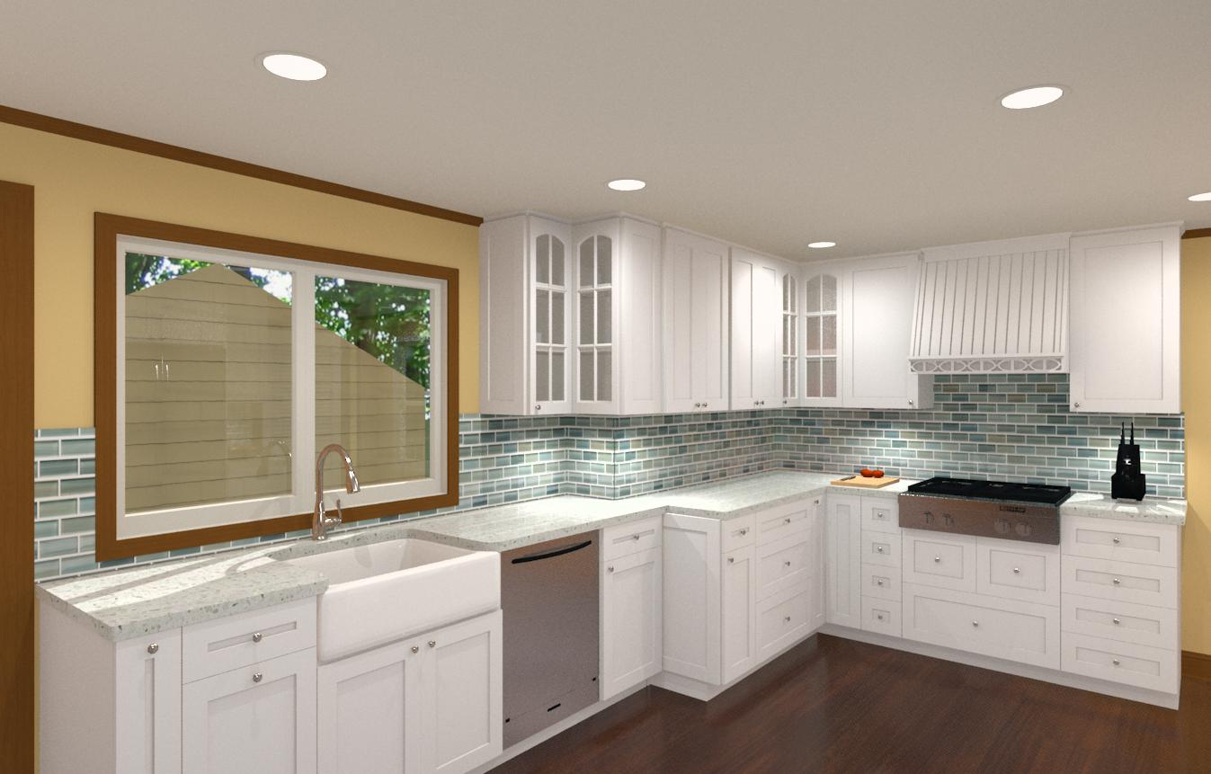 Kitchen Remodel for a 100 Year Old Home  Design Build