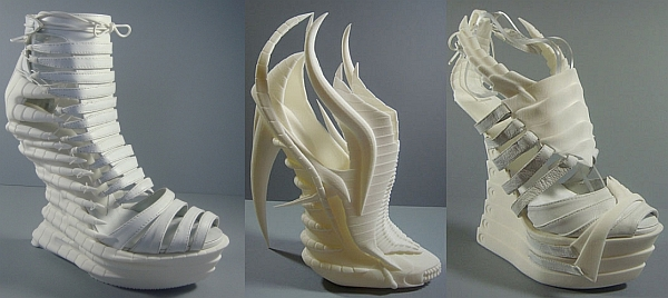 3D printed shoes by Janina Alleyne