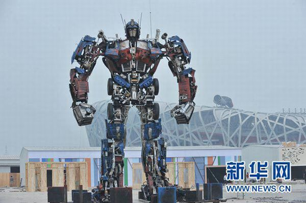 Chinese transformer Made From Auto parts
