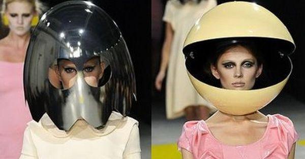 Pac-Man inspired runway show