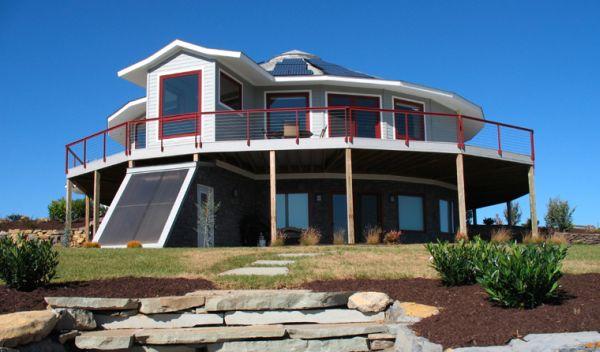 Modern Round home_2