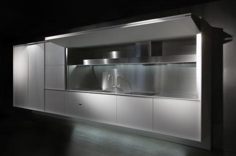 OnOff Kitchen la cucina a scomparsa di Boffi  DesignBuzzit