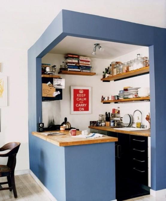 Idee arredo cucina piccola16  DesignBuzzit