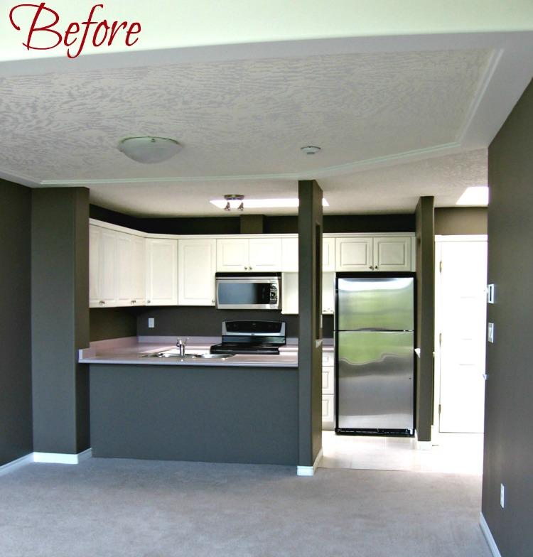 Condo before, 400 Dupplin Rd., Victoria BC