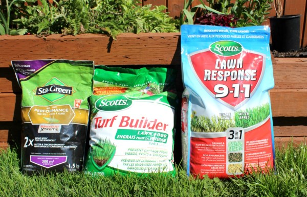 Use this fertilizer trio to maximize your output on your lawn