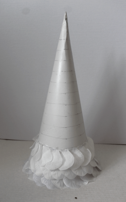 Easy to make DIY Cone trees in 3 finishes.