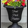 Make these front porch planters