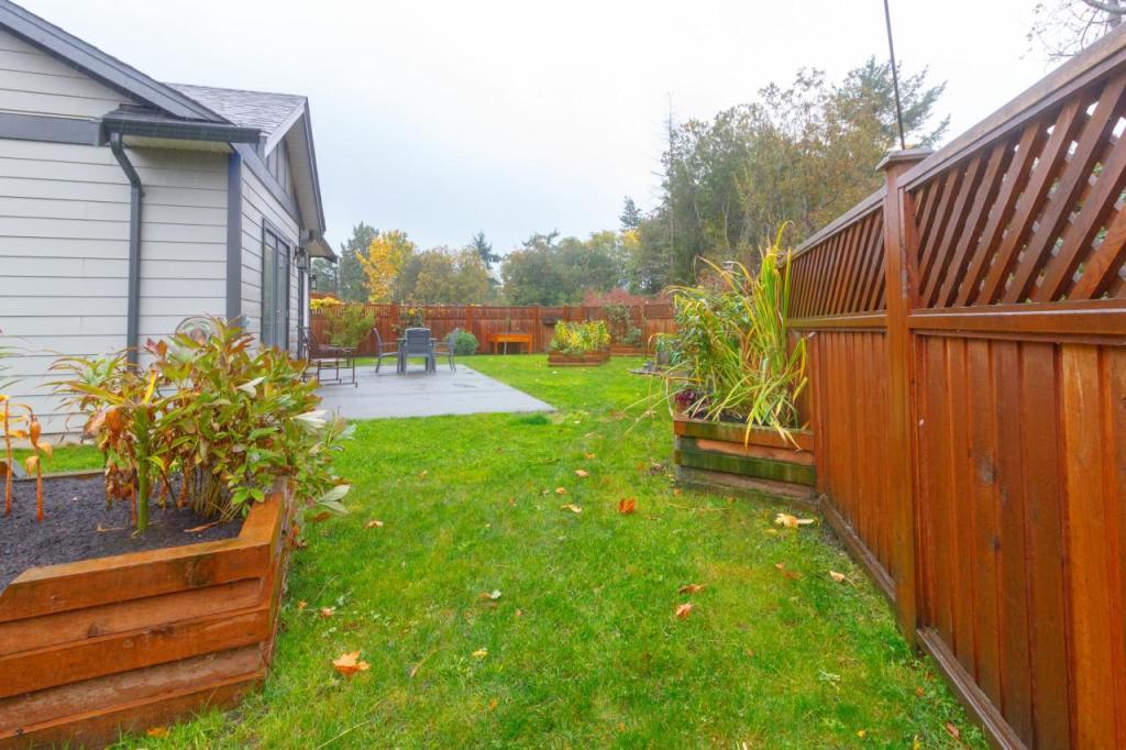 New home Back yard planter boxes Brackman Way