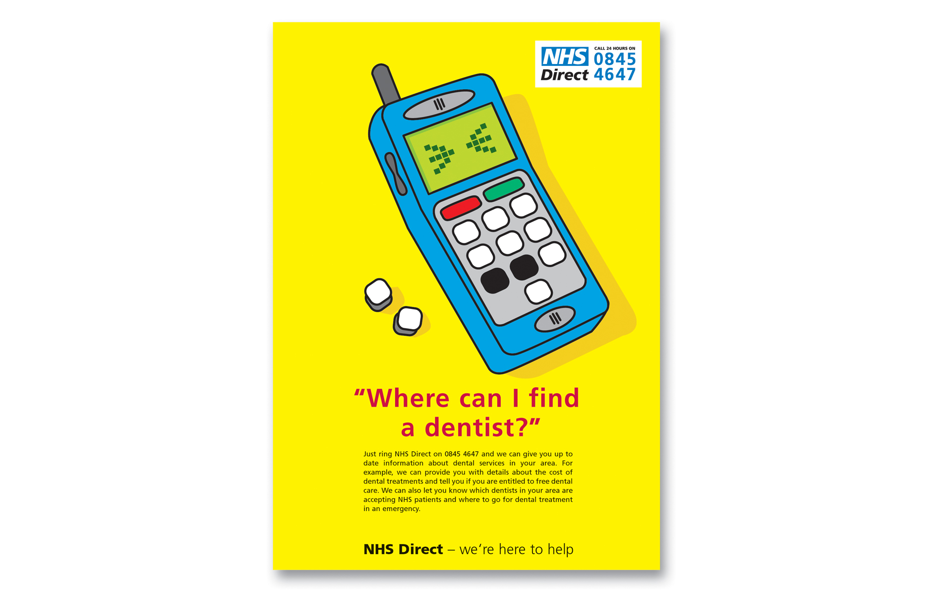 Fountainhead  NHS Direct GP Surgery Posters