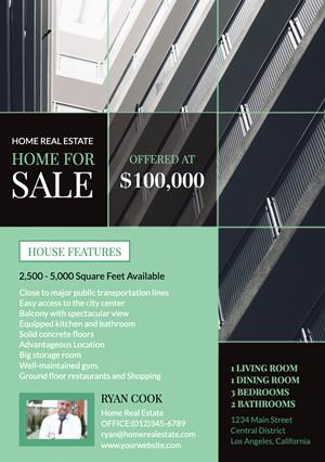 Free Apartment Flyer Designs