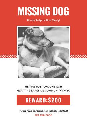 free missing poster maker online