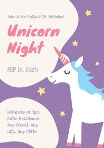 free unicorn poster designs