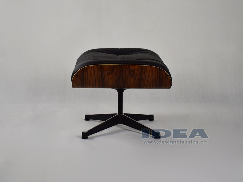 Charles Eames Lounge Chair and Ottoman Rosewood Veneer