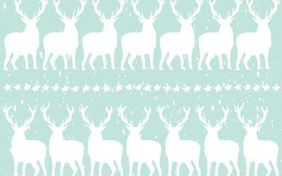 Gratis Printbaar Kerst Cadeaupapier