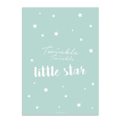 Twinkle-Twinkle-Little-Star-A3-Mint-Markita-3