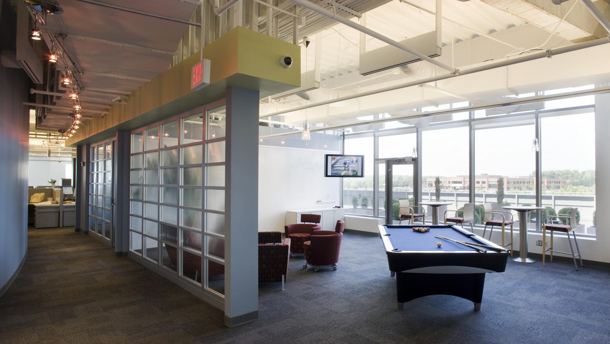 Merkle Inc Corporate Headquarters Portfolio Design