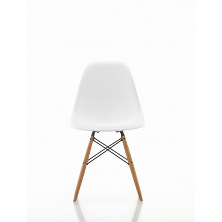 eames bucket chair molded plywood lounge with metal base buy vitra plastic dsw without upholstery by charles ray home
