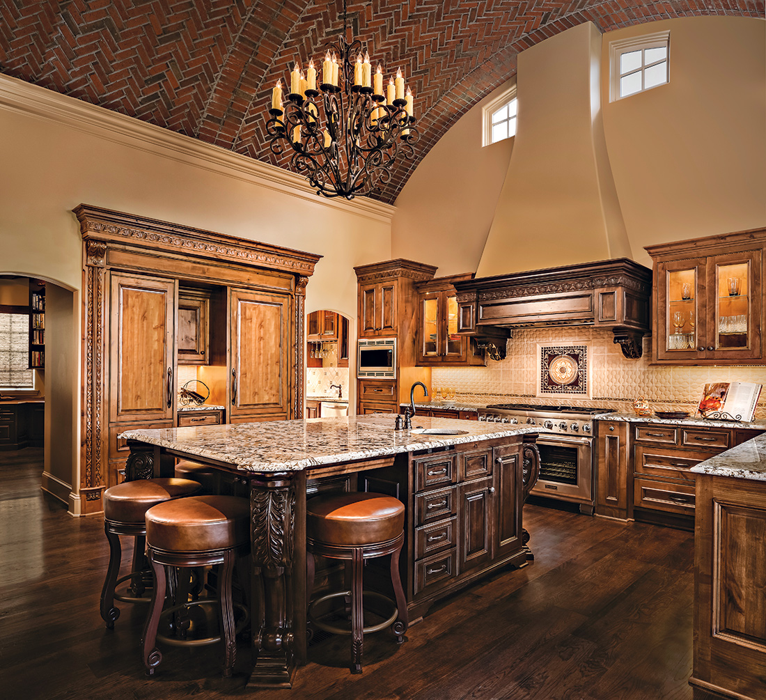 Kansas City Kitchen With A Taste Of Tuscany A Design