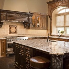 Brick Backsplash For Kitchen Storage Wall Units Kansas City With A Taste Of Tuscany: Design ...