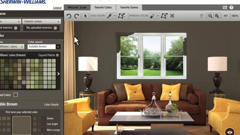 Interior paint visualizer for Kansas city interior designers