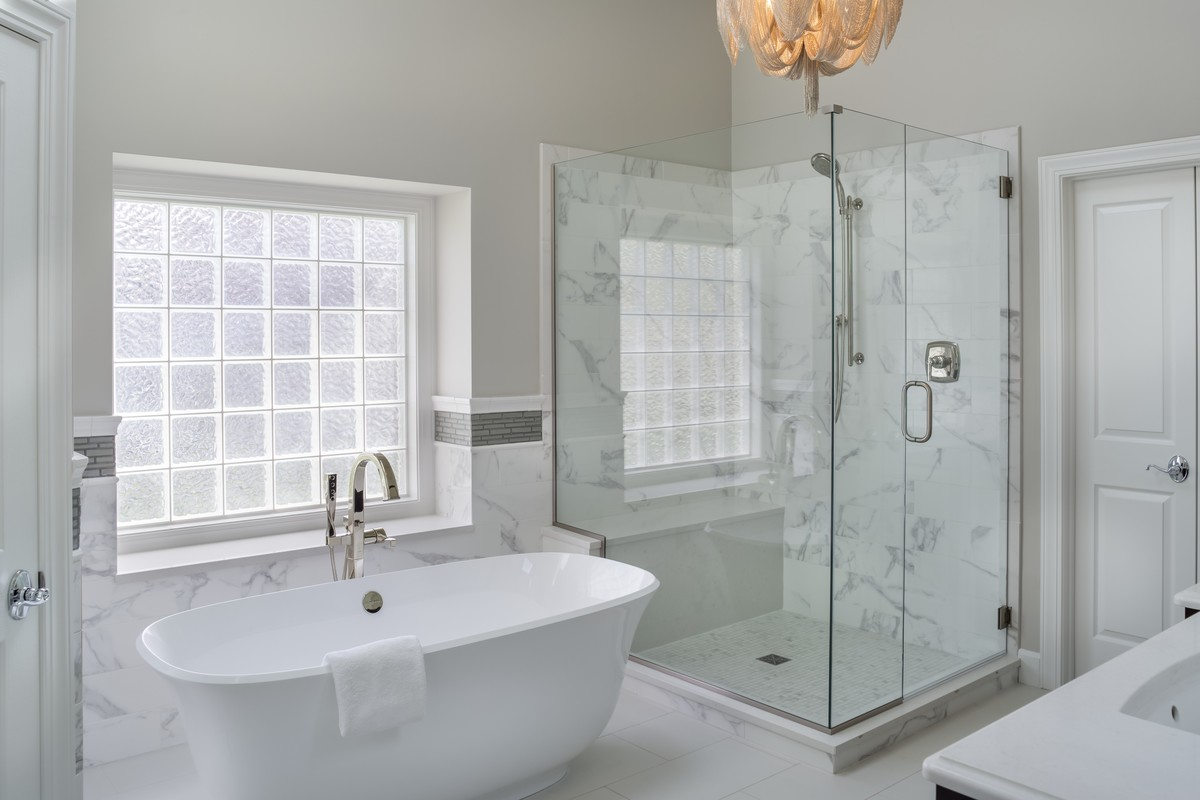 Leawood Lifestyle Magazine Features Our Project SPECTACULAR STANDALONE TUBS