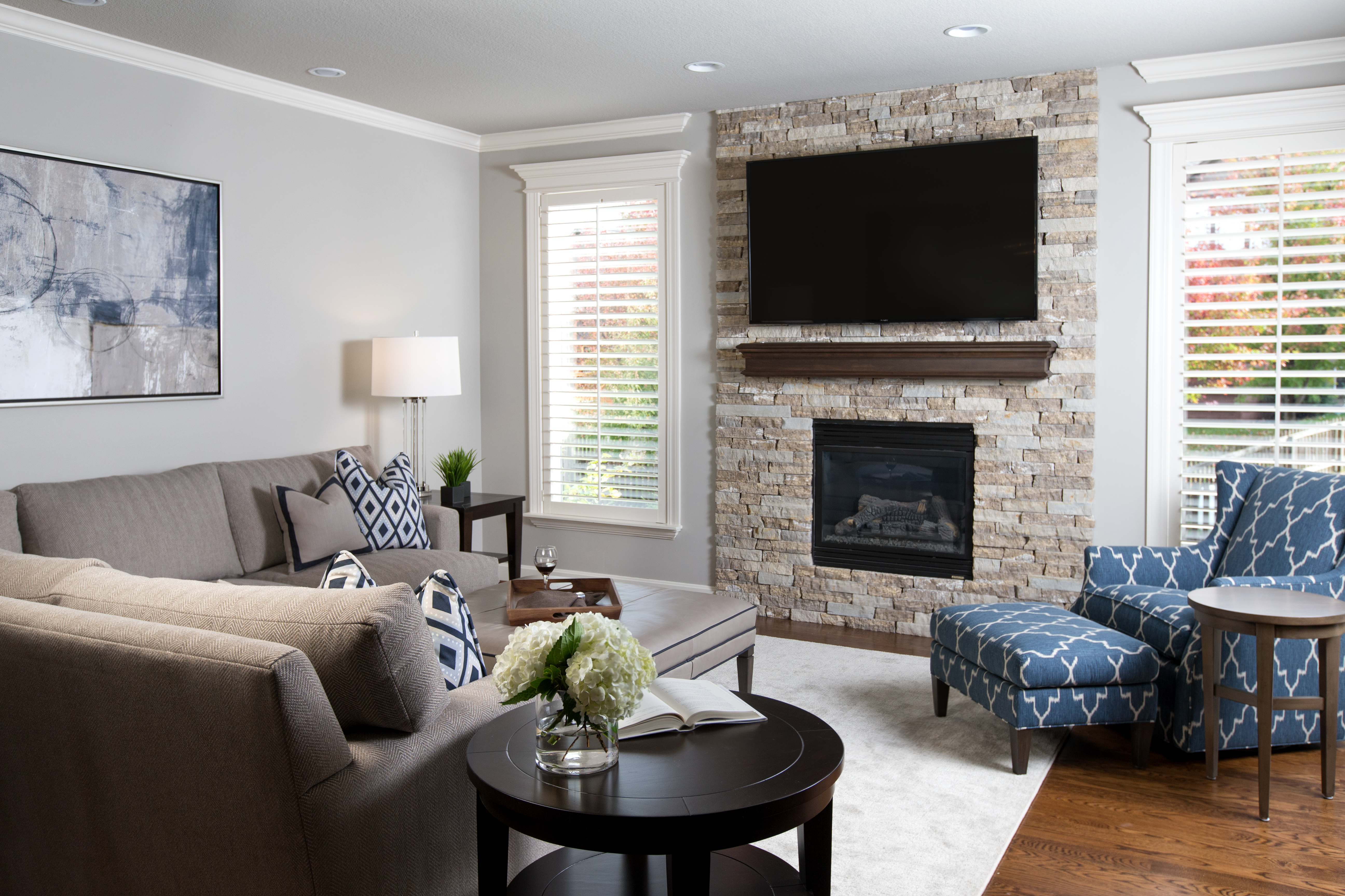 A Tale of Two Fireplaces A Design Connection Inc Featured Project