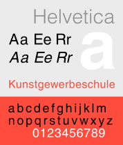 HelveticaSpecimenCH