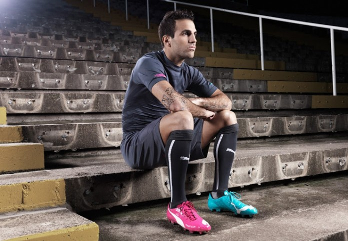 Fabregas-Puma-evoPOWER-Tricks