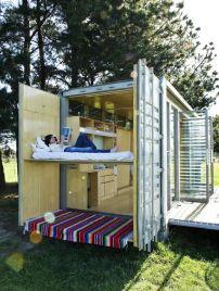 Uso criativo de containers na construção de casas