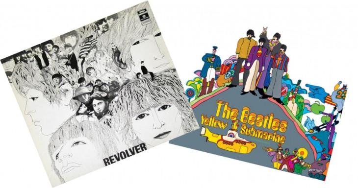 Álbuns lançados em 1966 e 1969.