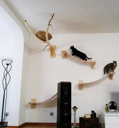 Playground suspenso para gatos, Goldtatze