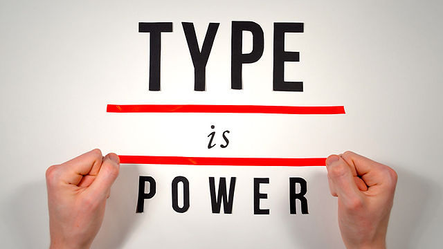 tipografia é poder