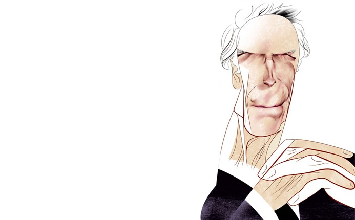 Clint Eastwood por André Carrilho