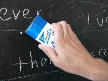Head&Shoulders: Chalkboard