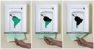 WWF: Dispenser de papel