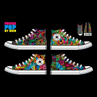 Campanha da Converse – Power Pop, by Onio