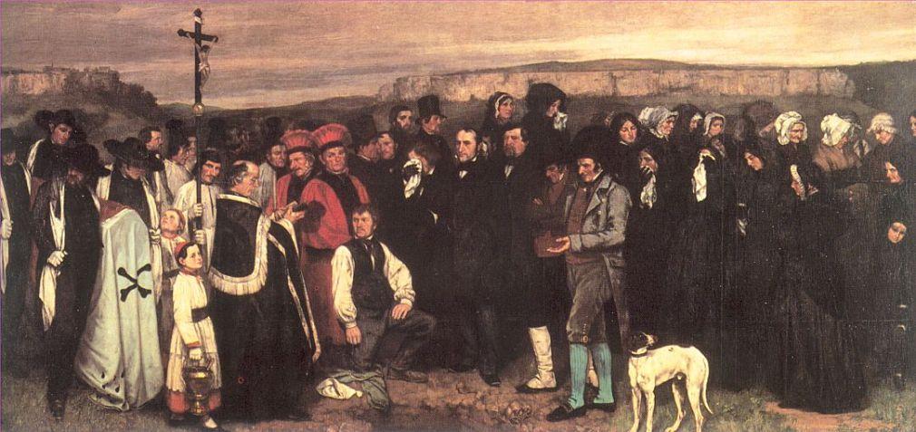 Enterro em Ornans, 1849