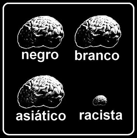 Racismo nunca mais.