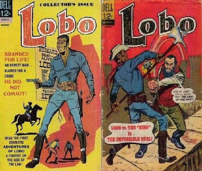 Capas da revista Lobo, 1965.