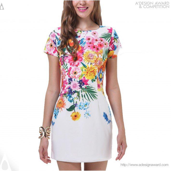 Floral Dress, por Gabriel Cetrez