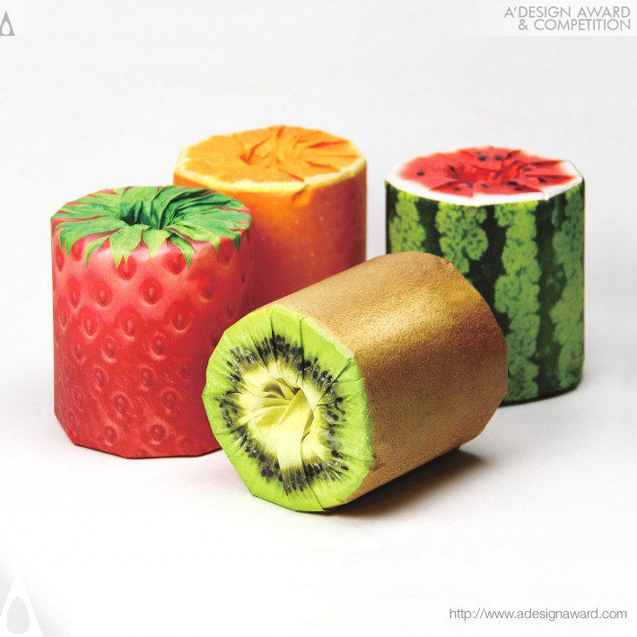 The Fruits Toilet Paper, por Kazuaki Kawahara