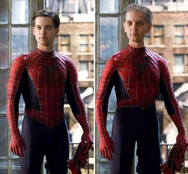 Spider Man por Watschi
