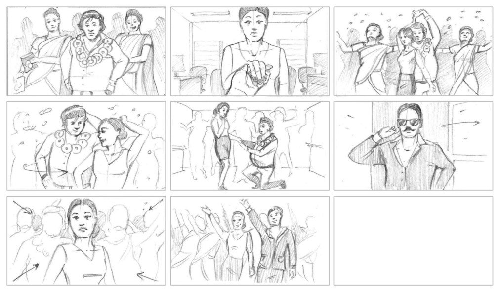 Bollywood storyboard