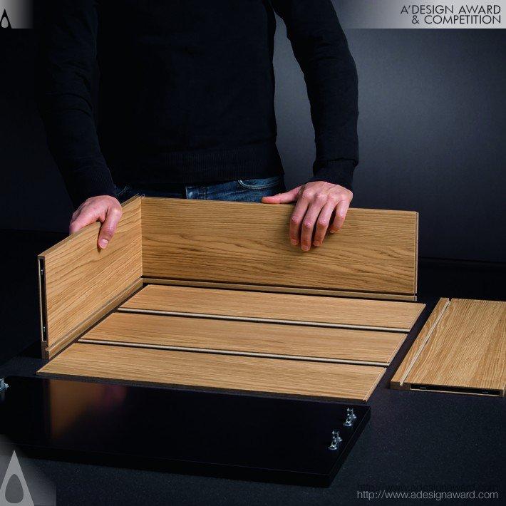 Caixa Ta'or Gaveta de madeira premium, por Kevin Donceel