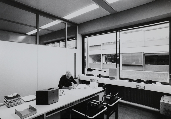Rams trabalhando na Braun, anos 80