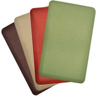 green kitchen mat open island sleep innovations introduces new comfort co anti fatigue mats