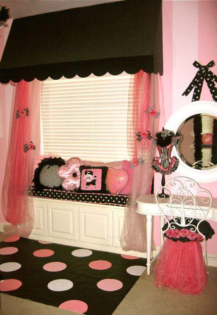 Poodles Paris And A Pink Bedroom Design Dazzle