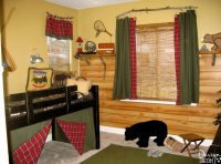 Boy's Fishing and Camping Bedroom - Design Dazzle