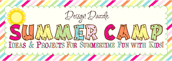 Design Dazzle Summer Camp banner
